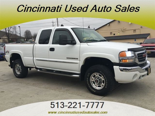 2006 Gmc Sierra 2500 Slt 4dr Extended Cab For Sale In Cincinnati