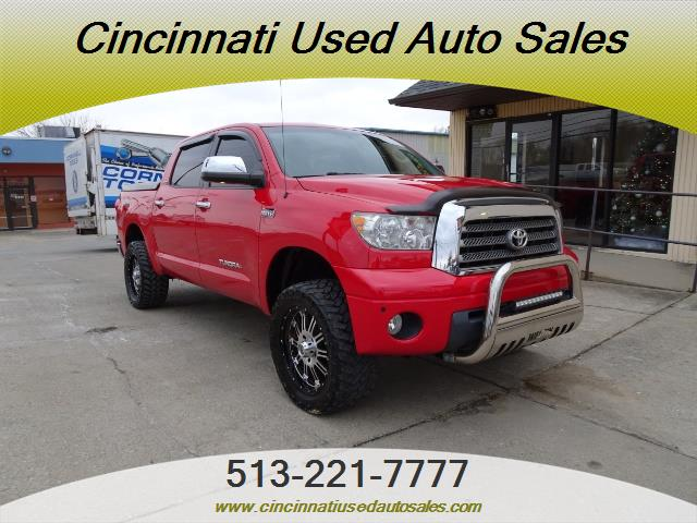 2008 toyota tundra limited for sale in cincinnati oh stock 13156. Black Bedroom Furniture Sets. Home Design Ideas