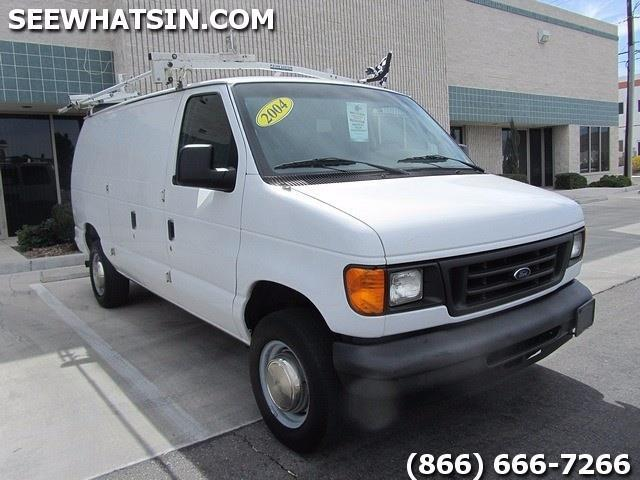 2004 ford econoline cargo e 250 e250 cargo vans used cargo van work van for sale in las. Black Bedroom Furniture Sets. Home Design Ideas