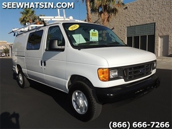 2007 Ford E-Series Cargo E-250 Van