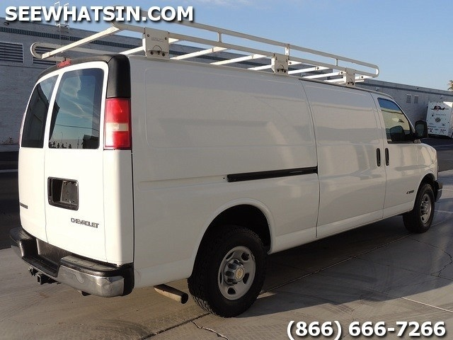 2003 Chevrolet Express 3500 Extended Cargo For Sale In Las