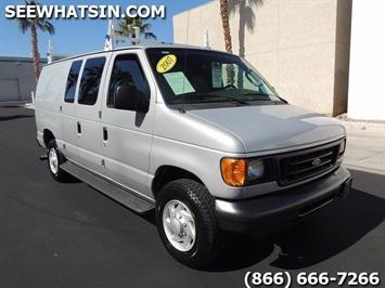 2007 Ford E-Series Cargo E-350 SD TURBO DIESEL 6.0L Van