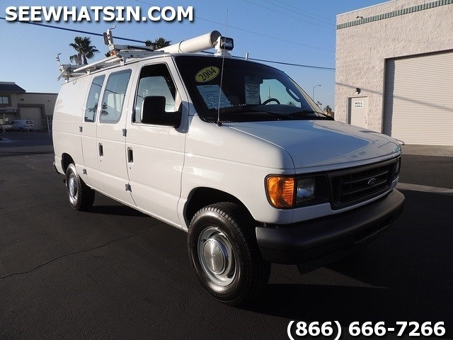 2004 ford e series cargo e 250 e250 used cargo van cargo vans fleet for sale in las vegas. Black Bedroom Furniture Sets. Home Design Ideas