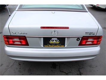 2001 Mercedes-Benz SL 500 Hard Top & AMG Trim  Low Miles - Photo 10 - Sacramento, CA 95825