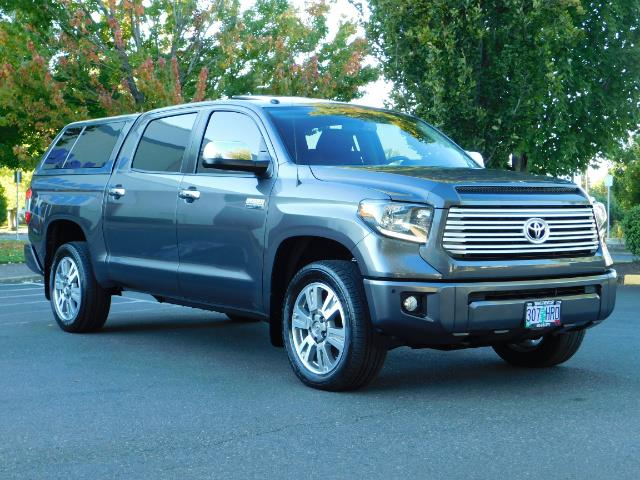 2015 Toyota Tundra PLATINUM / CrewMax / 4WD / FULLY LOADED / 1-OWNER - Photo 2 - Portland, OR 97217