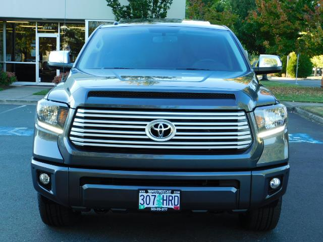 2015 Toyota Tundra PLATINUM / CrewMax / 4WD / FULLY LOADED / 1-OWNER - Photo 5 - Portland, OR 97217