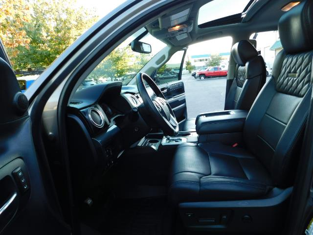 2015 Toyota Tundra PLATINUM / CrewMax / 4WD / FULLY LOADED / 1-OWNER - Photo 14 - Portland, OR 97217