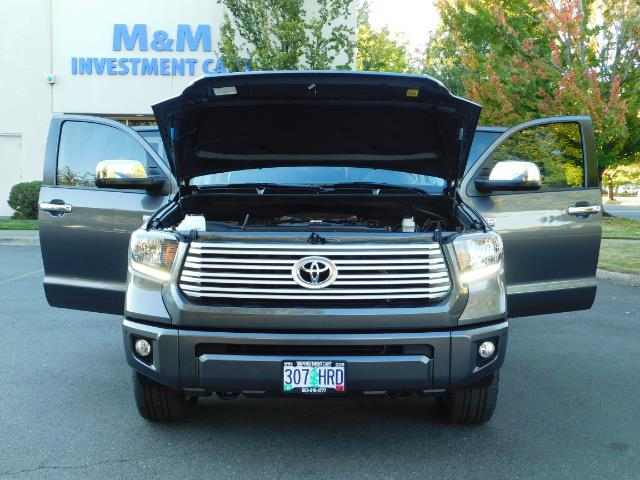 2015 Toyota Tundra PLATINUM / CrewMax / 4WD / FULLY LOADED / 1-OWNER - Photo 30 - Portland, OR 97217