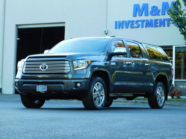 2015 Toyota Tundra PLATINUM / CrewMax / 4WD / FULLY LOADED / 1-OWNER - Photo 48 - Portland, OR 97217