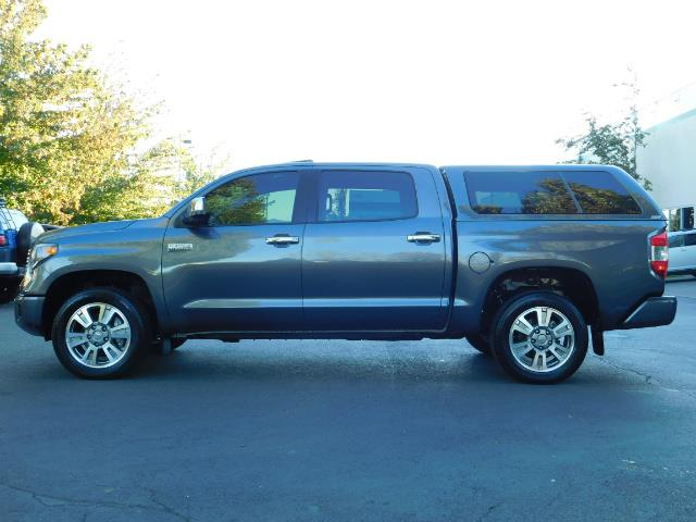 2015 Toyota Tundra PLATINUM / CrewMax / 4WD / FULLY LOADED / 1-OWNER - Photo 3 - Portland, OR 97217