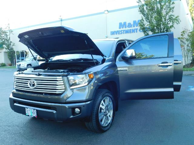 2015 Toyota Tundra PLATINUM / CrewMax / 4WD / FULLY LOADED / 1-OWNER - Photo 32 - Portland, OR 97217