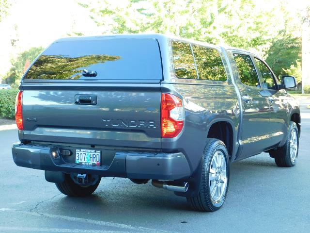 2015 Toyota Tundra PLATINUM / CrewMax / 4WD / FULLY LOADED / 1-OWNER - Photo 8 - Portland, OR 97217