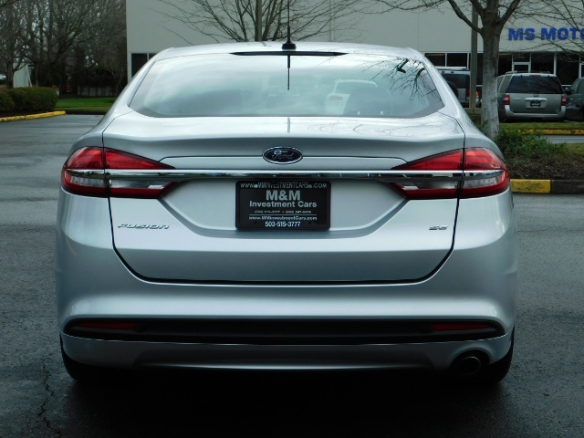 2017 Ford Fusion SE / 4Dr Sedan / Backup Camera / ONLY  10K MILES - Photo 6 - Portland, OR 97217