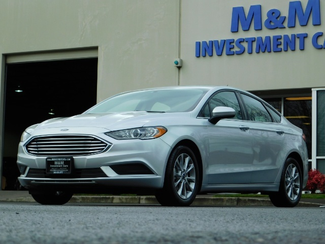 2017 Ford Fusion SE / 4Dr Sedan / Backup Camera / ONLY  10K MILES - Photo 48 - Portland, OR 97217
