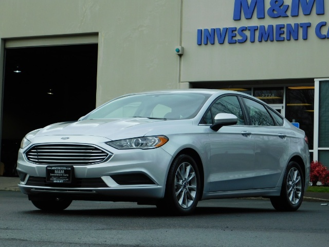 2017 Ford Fusion SE / 4Dr Sedan / Backup Camera / ONLY  10K MILES - Photo 45 - Portland, OR 97217