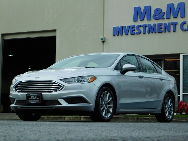 2017 Ford Fusion SE / 4Dr Sedan / Backup Camera / ONLY  10K MILES - Photo 44 - Portland, OR 97217
