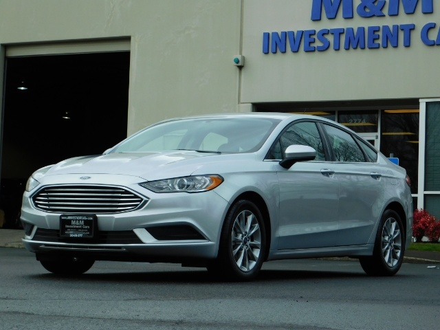 2017 Ford Fusion SE / 4Dr Sedan / Backup Camera / ONLY  10K MILES - Photo 46 - Portland, OR 97217
