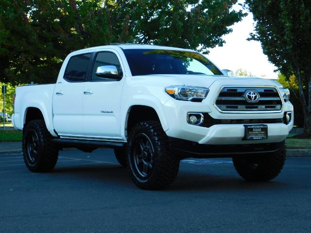 2017 toyota tacoma limited 4x4 leather navi lifted 6k mls. Black Bedroom Furniture Sets. Home Design Ideas