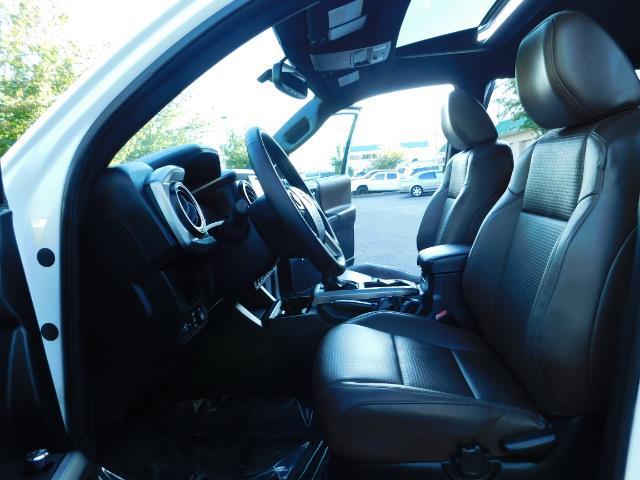 2017 Toyota Tacoma LIMITED 4X4 / Leather / Navi / LIFTED / * 6K MLS* - Photo 14 - Portland, OR 97217