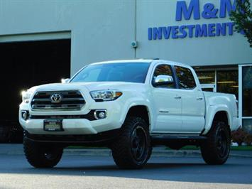 2017 Toyota Tacoma LIMITED 4X4 / Leather / Navi / LIFTED / * 6K MLS*