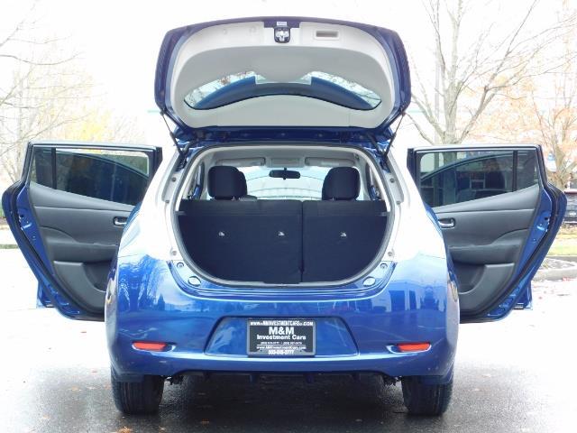 2016 Nissan Leaf S-24 / Backup camera / Quick Charge Port / 1-OWNER - Photo 28 - Portland, OR 97217