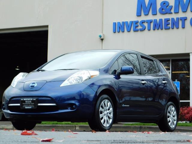 2016 Nissan Leaf S-24 / Backup camera / Quick Charge Port / 1-OWNER - Photo 1 - Portland, OR 97217