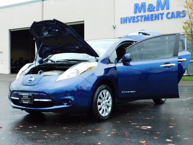 2016 Nissan Leaf S-24 / Backup camera / Quick Charge Port / 1-OWNER - Photo 25 - Portland, OR 97217