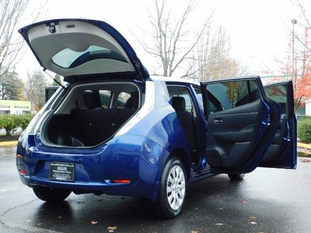 2016 Nissan Leaf S-24 / Backup camera / Quick Charge Port / 1-OWNER - Photo 30 - Portland, OR 97217