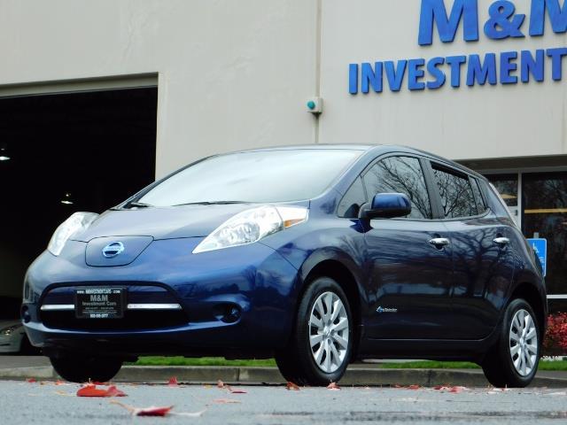 2016 Nissan Leaf S-24 / Backup camera / Quick Charge Port / 1-OWNER - Photo 48 - Portland, OR 97217
