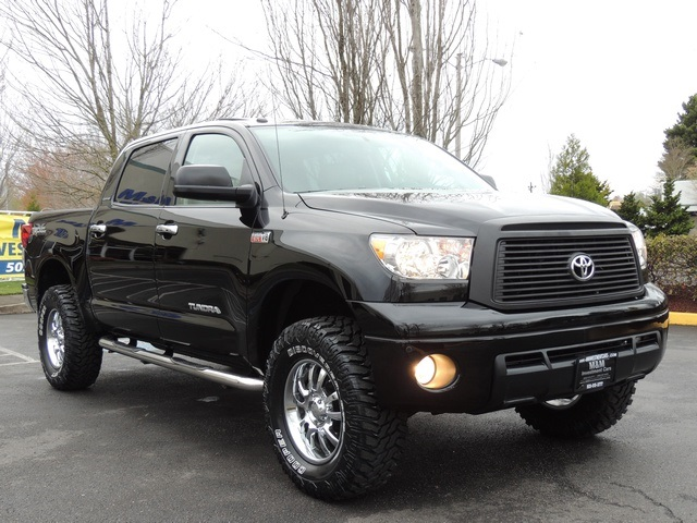 2012 toyota tundra limited crew max 4x4 leather navi lifted. Black Bedroom Furniture Sets. Home Design Ideas