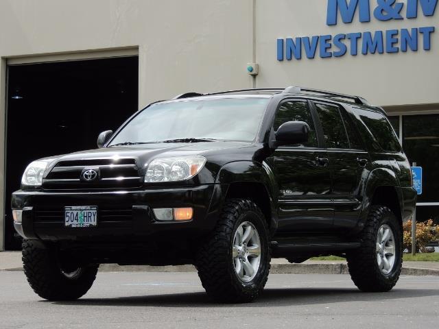 2003 Toyota 4Runner SR5 V6 / 4X4 / DIFF LOCK / LIFTED - Photo 43 - Portland, OR 97217