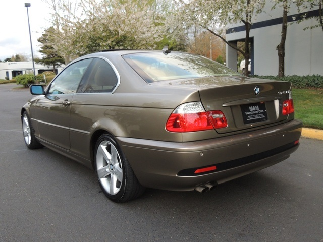 2005 Bmw 325ci 2dr Coupe Sport Premium Cold Weather Photo 9