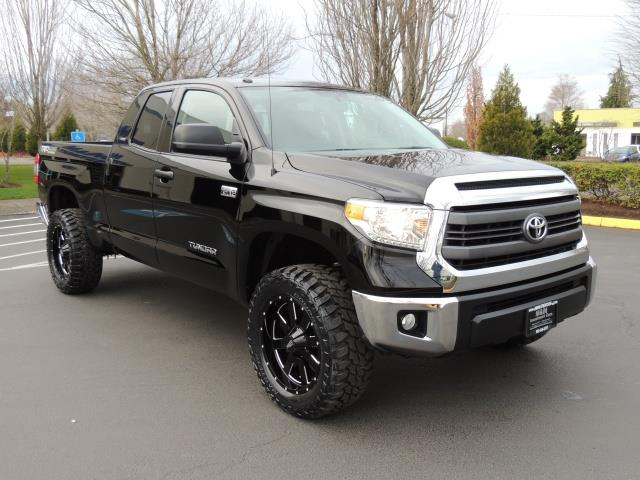 2014 toyota tundra double cab 5 7 trd 4x4 off road leather lifted. Black Bedroom Furniture Sets. Home Design Ideas