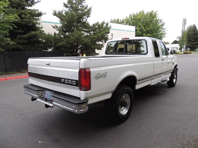 1996 Ford F-250 XLT/4X4/ 7.3L Turbo Diesel / Long Bed / Runs Excel - Photo 10 - Portland, OR 97217