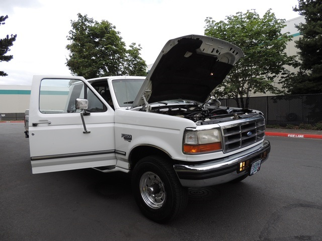 1996 Ford F-250 XLT/4X4/ 7.3L Turbo Diesel / Long Bed / Runs Excel - Photo 17 - Portland, OR 97217