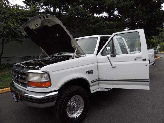 1996 Ford F-250 XLT/4X4/ 7.3L Turbo Diesel / Long Bed / Runs Excel - Photo 11 - Portland, OR 97217