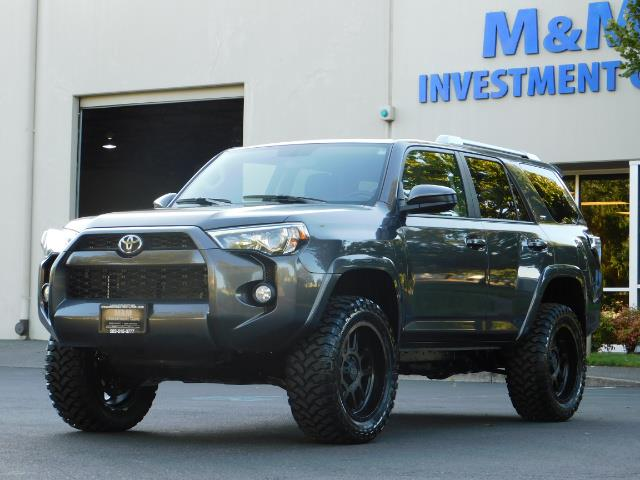 2016 Toyota 4Runner SR5 / 4WD / Sport Utility / LIFTED LIFTED - Photo 44 - Portland, OR 97217
