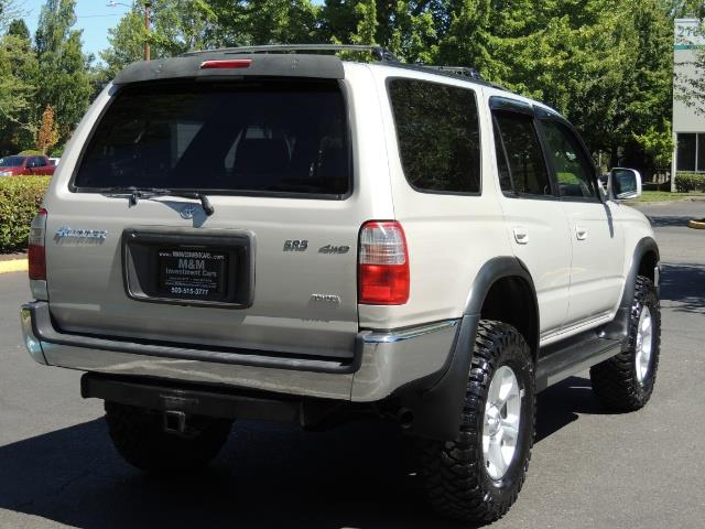 1999 Toyota 4Runner SR5 4WD V6 3.4L / LEATHER / NEW TIRES / LIFTED - Photo 8 - Portland, OR 97217