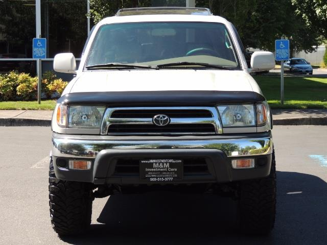 1999 Toyota 4Runner SR5 4WD V6 3.4L / LEATHER / NEW TIRES / LIFTED - Photo 5 - Portland, OR 97217
