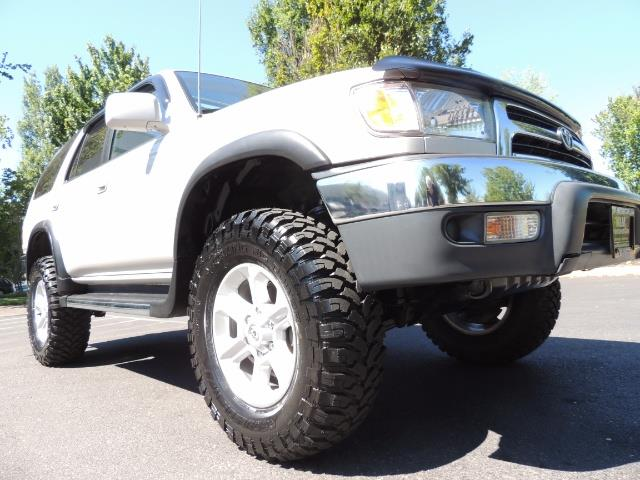 1999 Toyota 4Runner SR5 4WD V6 3.4L / LEATHER / NEW TIRES / LIFTED - Photo 10 - Portland, OR 97217