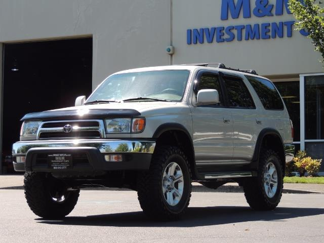 1999 Toyota 4Runner SR5 4WD V6 3.4L / LEATHER / NEW TIRES / LIFTED - Photo 37 - Portland, OR 97217