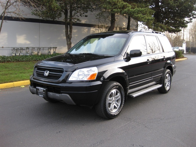 2005 honda pilot ex l 4wd v6 leather 3rd seat loaded. Black Bedroom Furniture Sets. Home Design Ideas