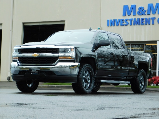 2017 Chevrolet Silverado 1500 LT / Crew Cab / 6.5Ft / 4WD / LIFTED LIFTED - Photo 46 - Portland, OR 97217