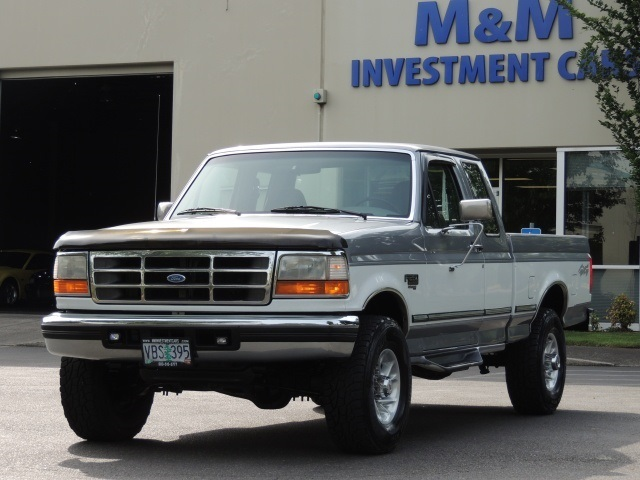 1996 Ford F  4x4    7 3l Turbo Diesel    5