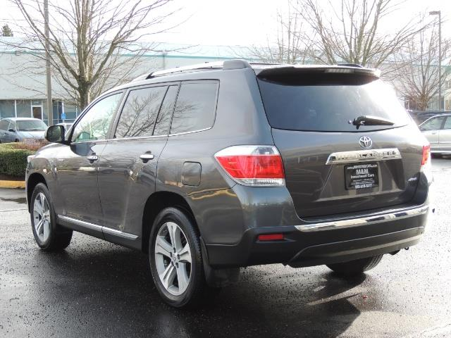2012 Toyota Highlander Limited All Wheel Drive Navigation Camera Loaded - Photo 7 - Portland, OR 97217