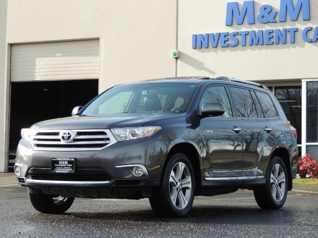 2012 Toyota Highlander Limited All Wheel Drive Navigation Camera Loaded - Photo 45 - Portland, OR 97217