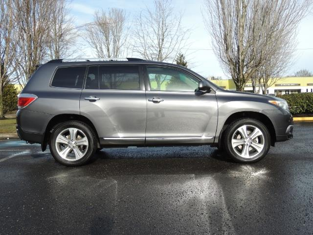 2012 Toyota Highlander Limited All Wheel Drive Navigation Camera Loaded - Photo 4 - Portland, OR 97217