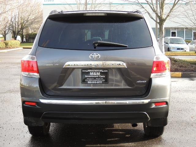 2012 Toyota Highlander Limited All Wheel Drive Navigation Camera Loaded - Photo 6 - Portland, OR 97217