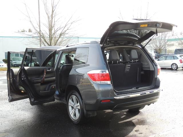 2012 Toyota Highlander Limited All Wheel Drive Navigation Camera Loaded - Photo 28 - Portland, OR 97217