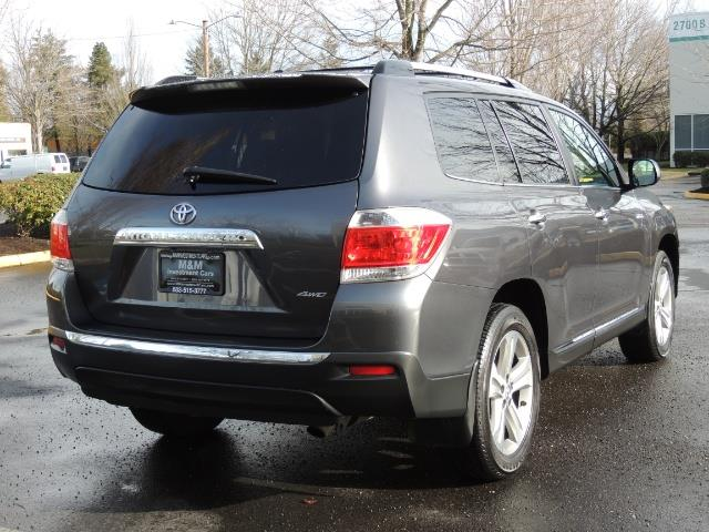 2012 Toyota Highlander Limited All Wheel Drive Navigation Camera Loaded - Photo 8 - Portland, OR 97217